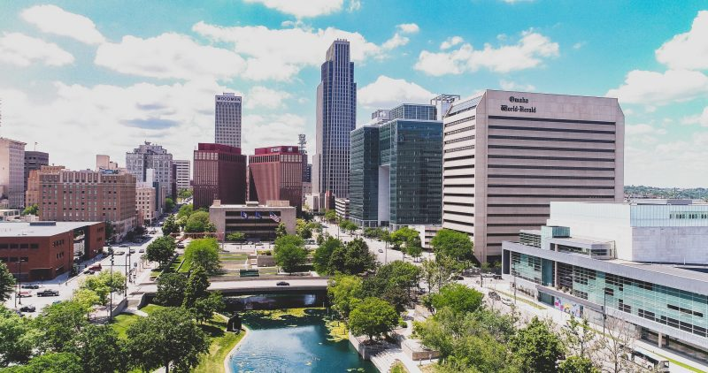 Downtown Omaha, Nebraska